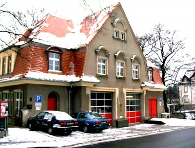 Feuerwehr Dresden-Bühlau vor der Sanierung